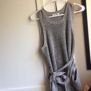 Madewell Sleeveless Tie-Wrap Sweater